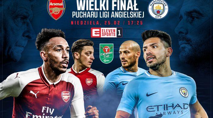 W niedzielę finał Pucharu Ligi Angielskiej w Eleven Sports 1