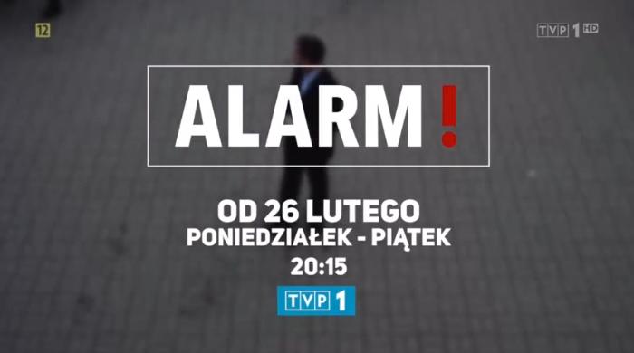 """Magazyn reporterski """"Alarm!"""" od 26 lutego w TVP1"""