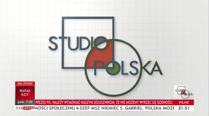 Studio Polska bez wpisów z Twittera na ekranie. Magdalena Ogórek: To awaria, wpisy wrócą za tydzień