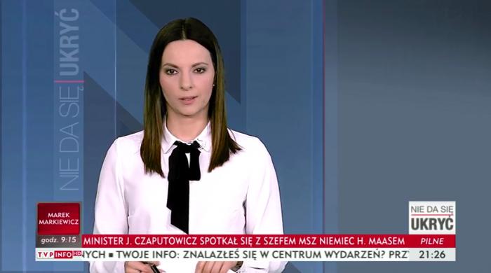 """Magdalena Wierzchowska prowadzącą """"Nie da się ukryć"""""""