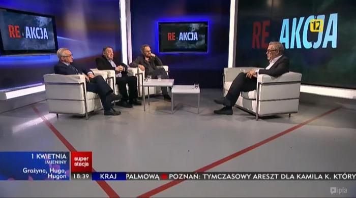 """""""REdAKCJA"""" – nowy program Jacka Żakowskiego w Superstacji"""