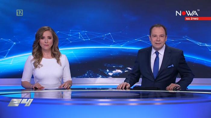 """Agnieszka Kopacz zadebiutowała w roli prowadzącej """"24 godziny online.pl"""""""