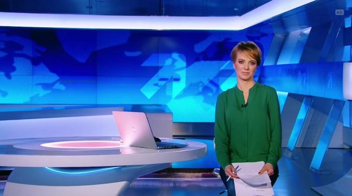 """Anna Hałas-Michalska z debiutem w roli prezenterki """"Informacji"""" Polsat News"""