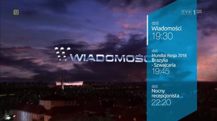 Główne wydanie Wiadomości podczas Mundialu ponownie o 19:30. Pogoda i Sport przed serwisem