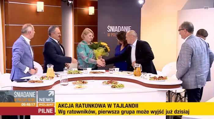 Beata Lubecka pożegnała się z widzami Polsat News