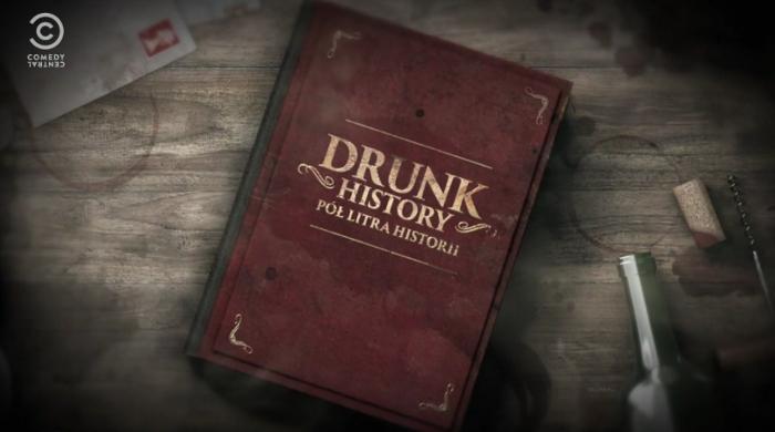 "Drugi sezon ""Drunk History – Pół litra historii"" od 5 listopada w Comedy Central"
