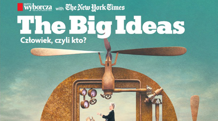 "Magazyn ""The Big Ideas"" we wtorek z Gazetą Wyborczą"