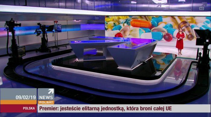 """Polsat News zmienia wieczorną ramówkę. Krótsze """"Wydarzenia i Opinie"""", wraca serwis o 21:00"""