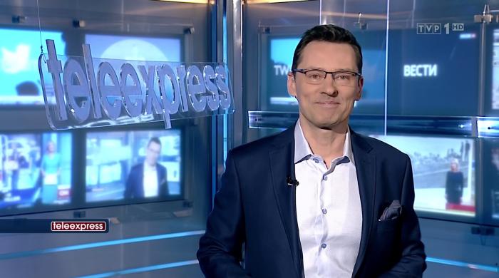 """Krzysztof Ziemiec zadebiutował w """"Teleexpressie"""""""