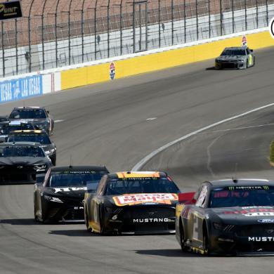 Las Vegas Motor Speedway Testing