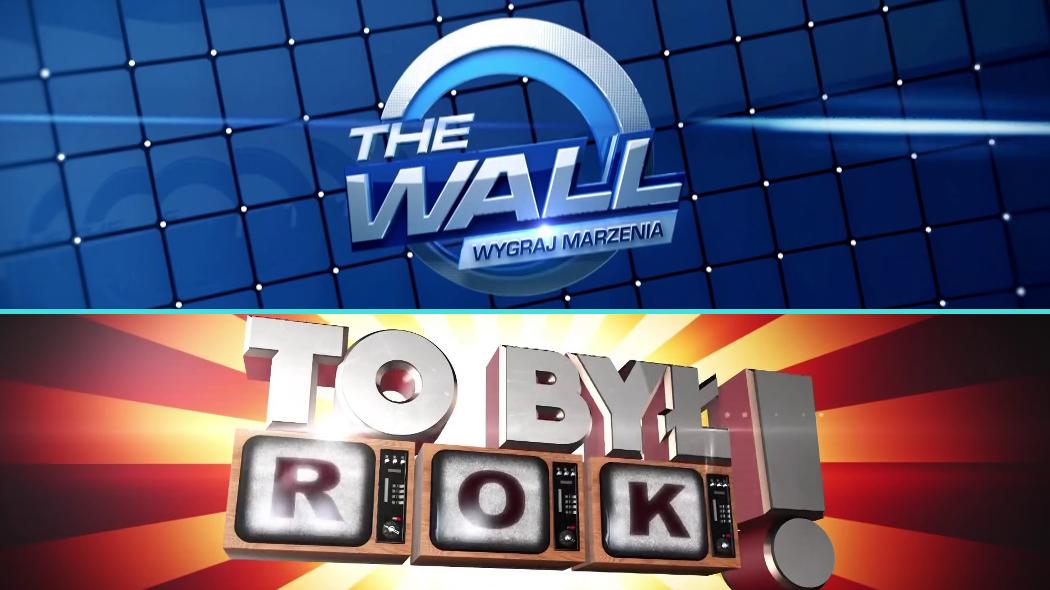 """""""To był rok!"""" i """"The Wall. Wygraj marzenia"""" w nowych pasmach. TVP1 zmienia ramówkę"""