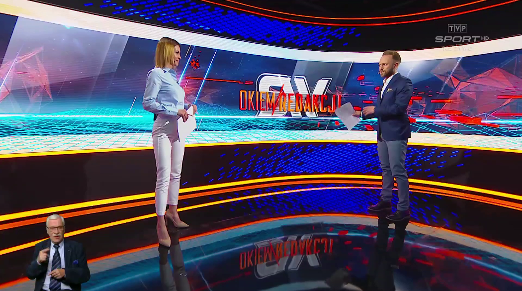 Studio TVP Sport - Sportowy wieczór