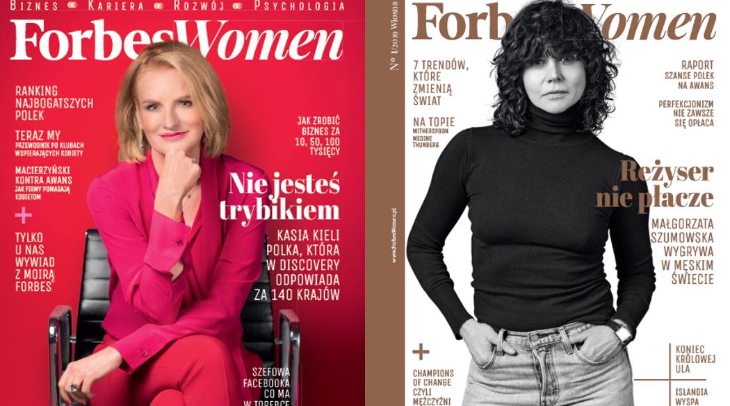 Okładki Forbes Women