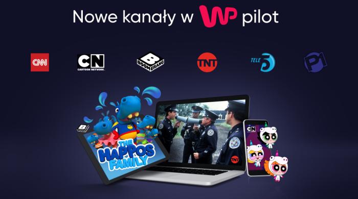 Sześć nowych kanałów w WP Pilot
