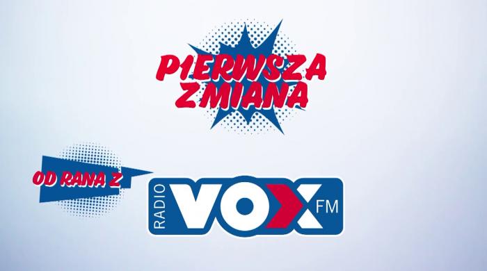 """""""Pierwsza zmiana w formie od rana"""" z Robertem Burneiką w VOX FM"""