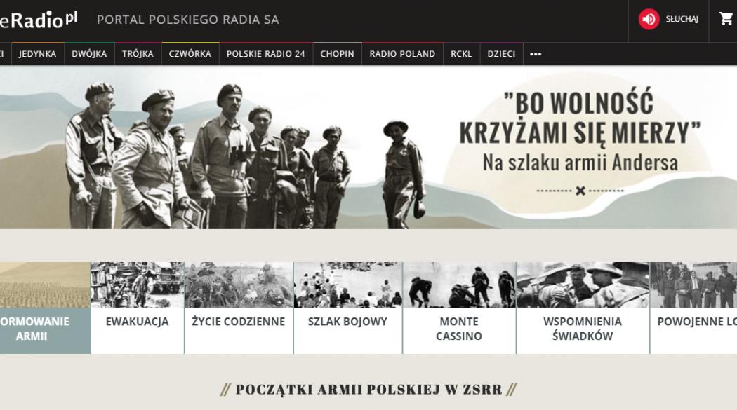 Serwis Polskie Radio o bitwie pod Monte Cassino