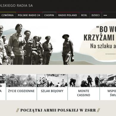 Polskie Radio uruchomiło serwis specjalny o bitwie pod Monte Cassino