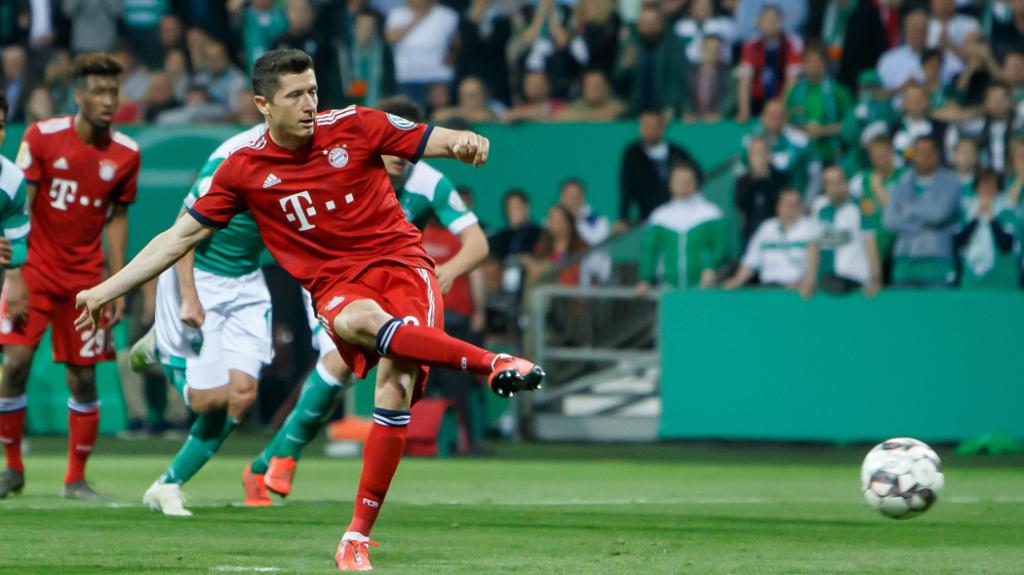 Robert Lewandowski - Finał Pucharu Niemiec