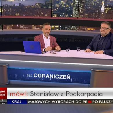 """Mirosław Oczkoś komentatorem w """"Bez ograniczeń"""" w Superstacji"""