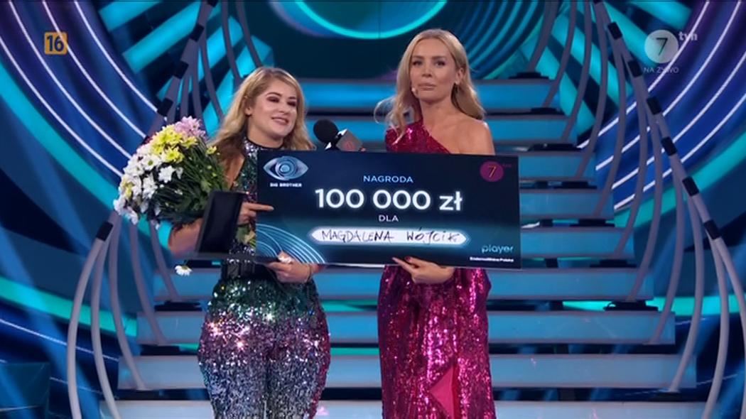 Magda Wójcik wygrała pierwszą edycję Big Brother w TVN7