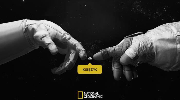50. rocznica pierwszego lądowania człowieka na Księżycu z National Geographic