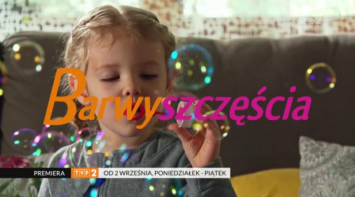 """Premierowe odcinki serialu """"Barwy szczęścia"""" od września w TVP 2"""