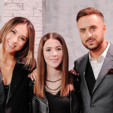 Nowakowska, Węgiel i Sikora prowadzącymi Junior Eurowizję 2019