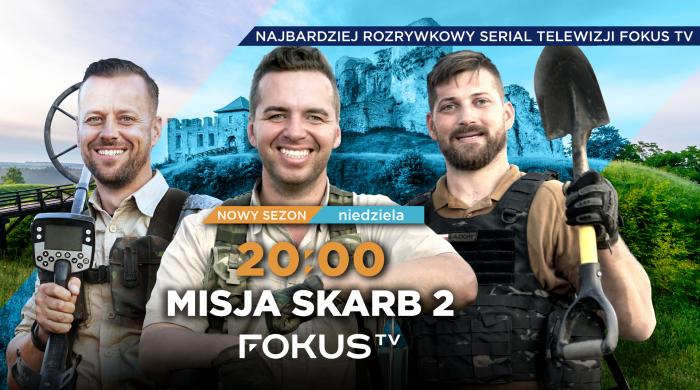 """""""Misja skarb 2"""" we wrześniu w Fokus TV"""