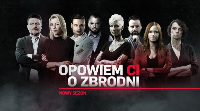 """Nowy sezon """"Opowiem ci o zbrodni"""" od 20 września w Crime+Investigation Polsat"""