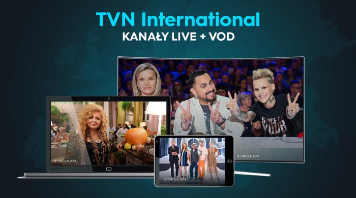 Pakiet TVN International przez 15 dni za darmo w osiemnastu krajach Europy