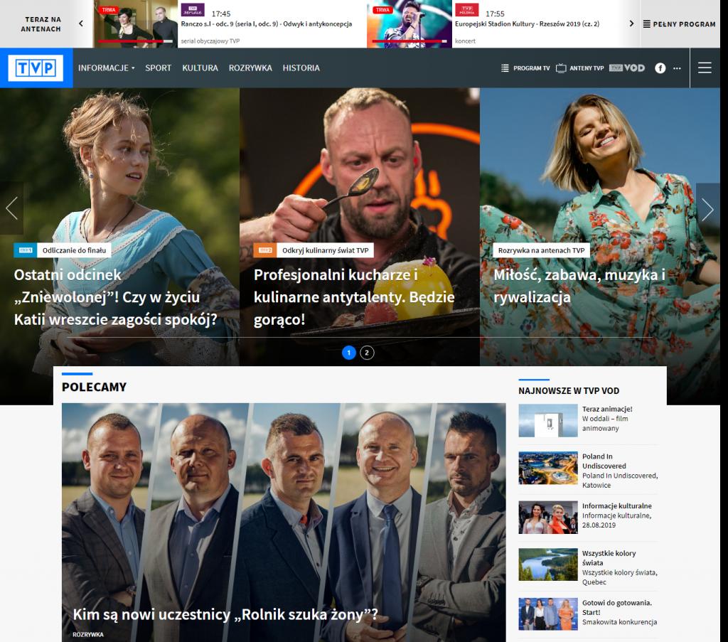 Strona główna - tvp.pl