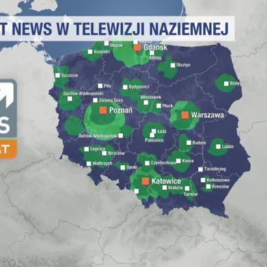 Polsat News za darmo w DVB-T. Testy HbbTV
