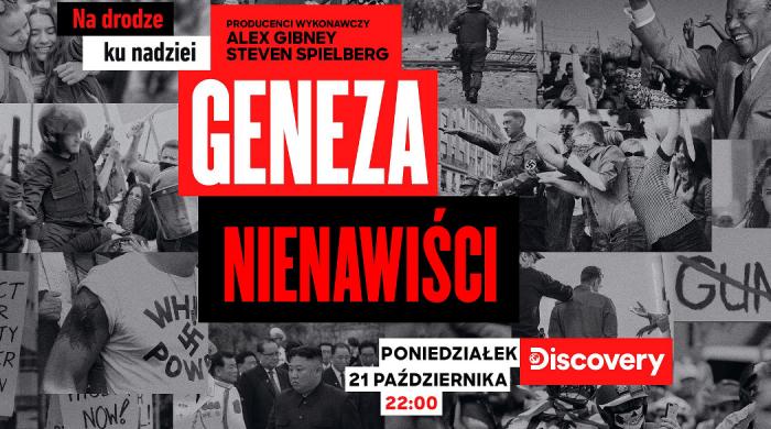"""TVN Discovery Polska pokaże serial dokumentalny """"Geneza nienawiści"""""""