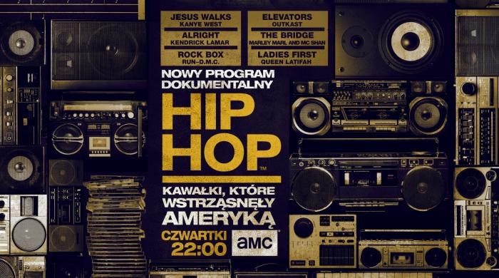 """""""Hip Hop: Kawałki, które wstrząsnęły Ameryką"""" i """"Niedziele z kryminałem"""". Listopad w AMC"""
