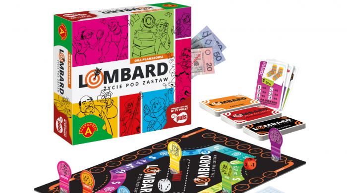 """Firma Alexander stworzyła grę planszową na podstawie serialu """"Lombard. Życie pod zastaw"""""""