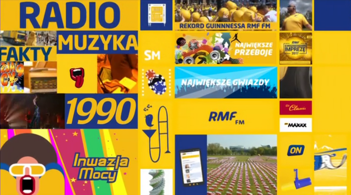 """30 lat RMF FM – ruszyła kampania reklamowa """"Dziękujemy, że jesteście z nami"""""""
