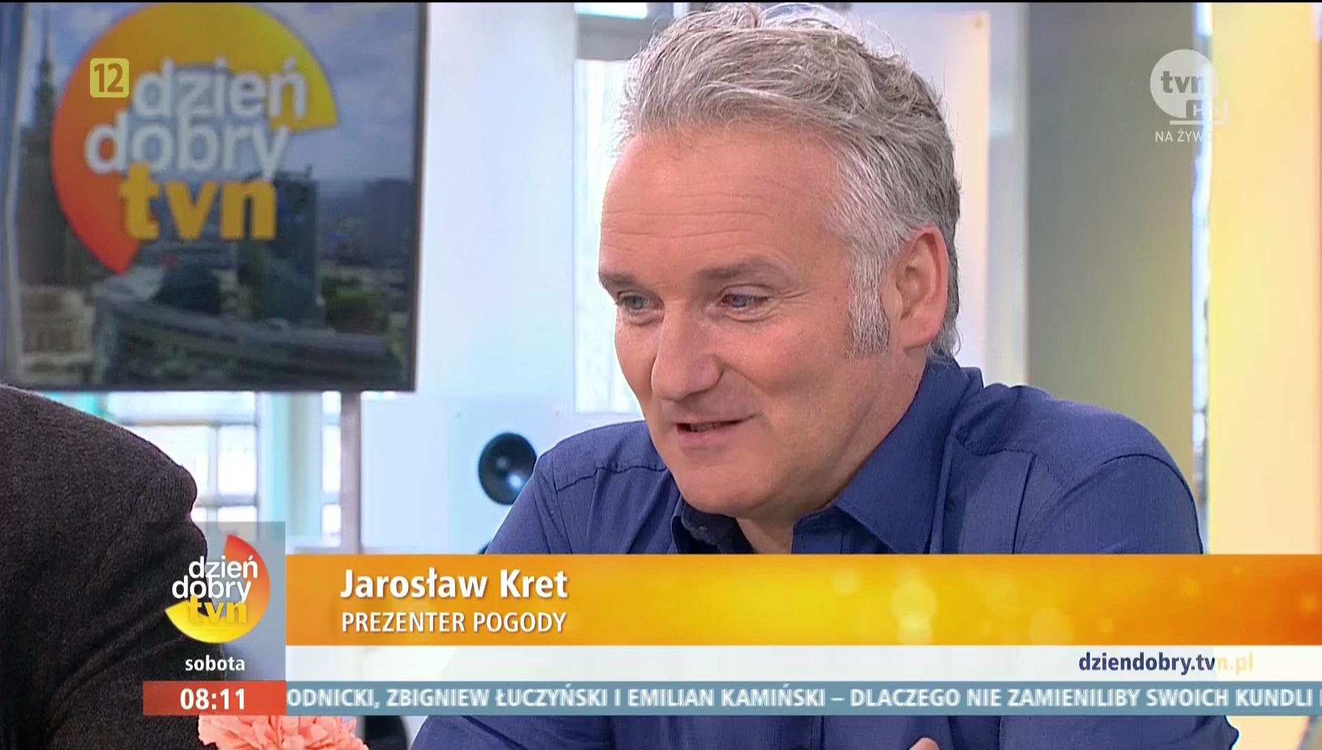 Jarosław Kret dołączy do redakcji pogody Telewizji Polsat