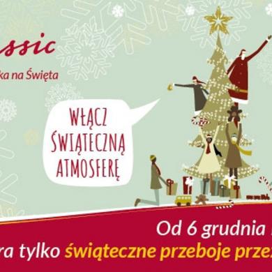 """""""Najpiękniejsza Muzyka na Święta"""" ponownie w RMF Classic"""