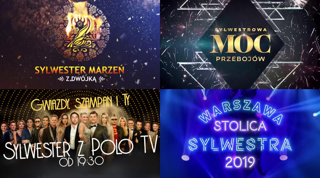 Sylwester 2019 w TV