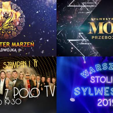 Sylwester 2019 w TVP, Polsat, TVN i Polo TV. Kto wystąpi?