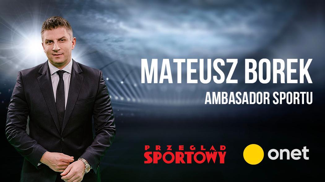 Mateusz Borek ambasadorem sportu Ringier Axel Springer Polska