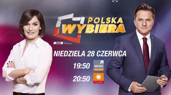 """Wybory prezydenckie: """"Polska wybiera"""" w Polsacie i Polsat News"""