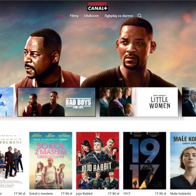 Canal+ uruchomił wypożyczalnię filmów online