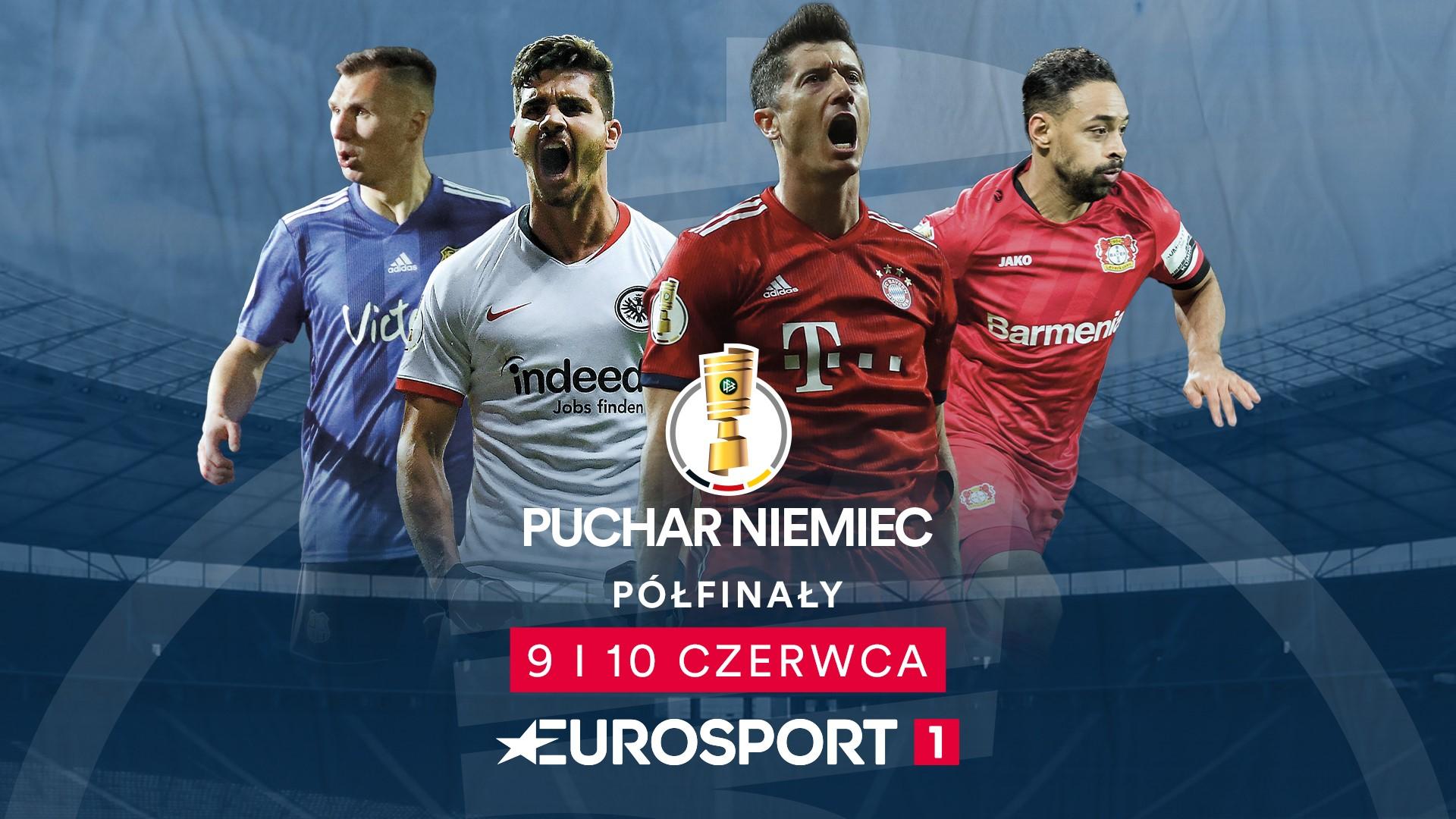 Puchar Niemiec w Eurosporcie z komentarzem Mateusza Borka