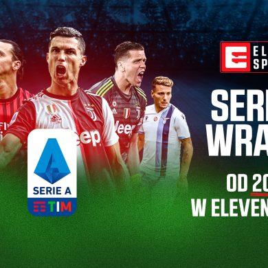 Włoska Serie A wznawia rozgrywki. Transmisje w Eleven Sports