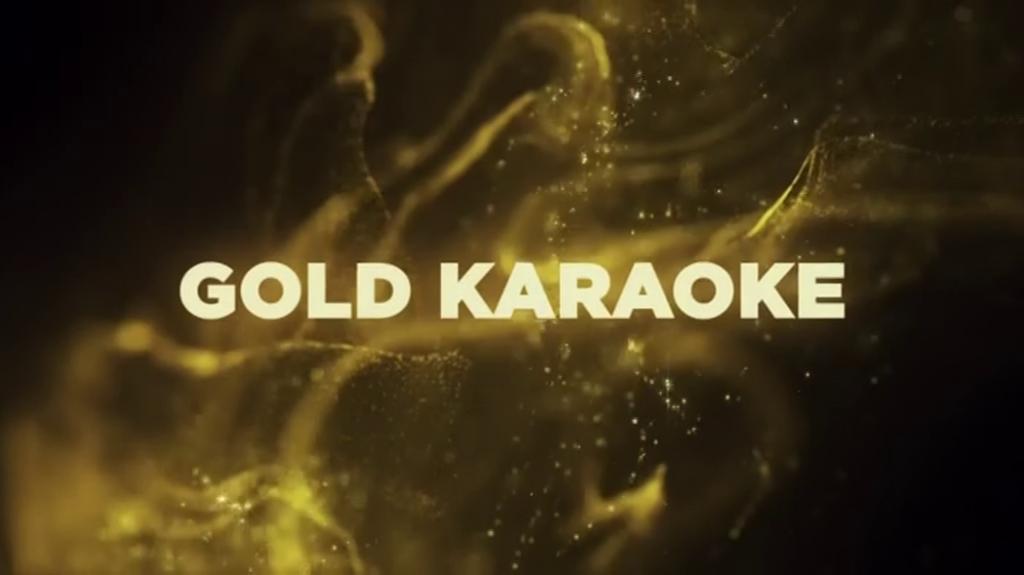 Gold karaoke