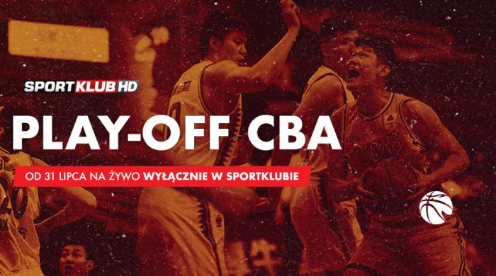 Faza play-off chińskiej ligi koszykarskiej CBA w Sportklubie