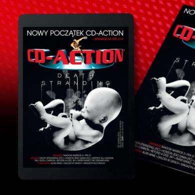 Pierwszy numer CD-Action wydany przez Fantasyexpo już w sprzedaży
