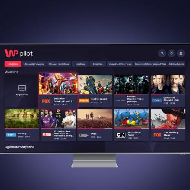 WP Pilot z aplikacją na Samsung Smart TV