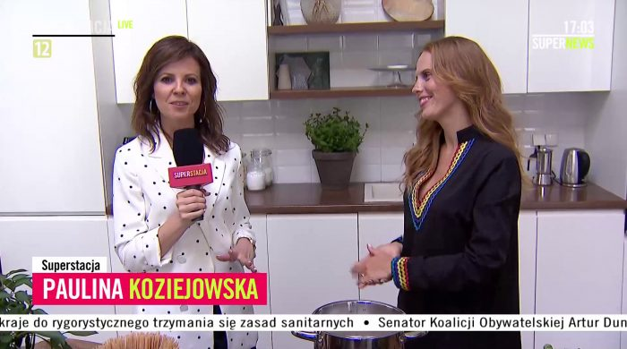 Paulina Koziejowska została reporterką Superstacji